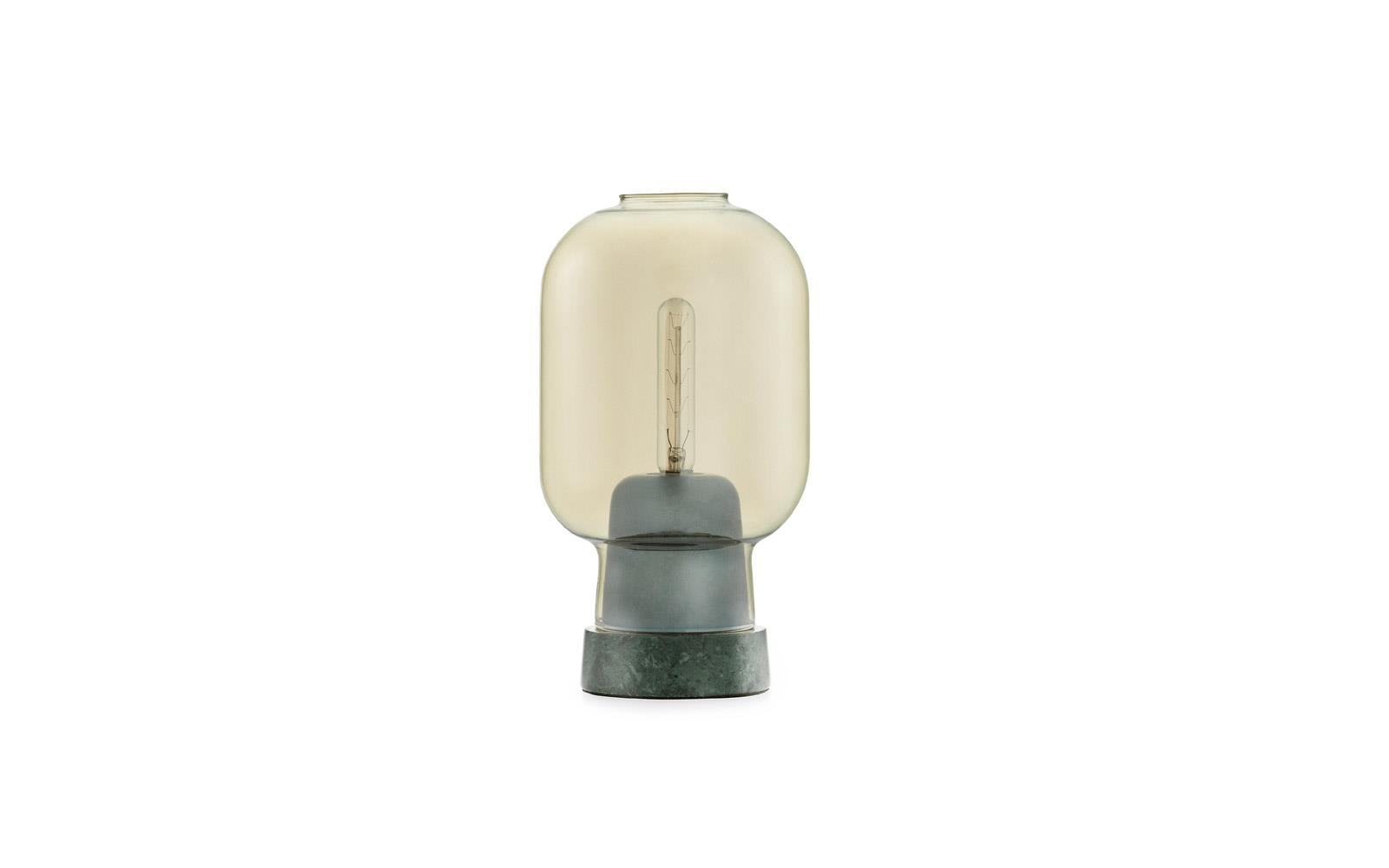Amp table lamp gold/green