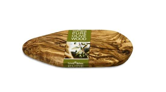Olijfhouten tapasplank 30 t/m 35 cm
