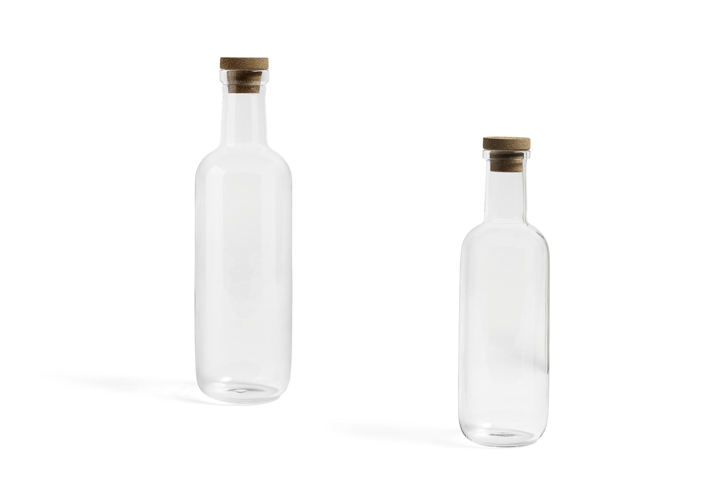 Bottle S 0,75 litre Clear