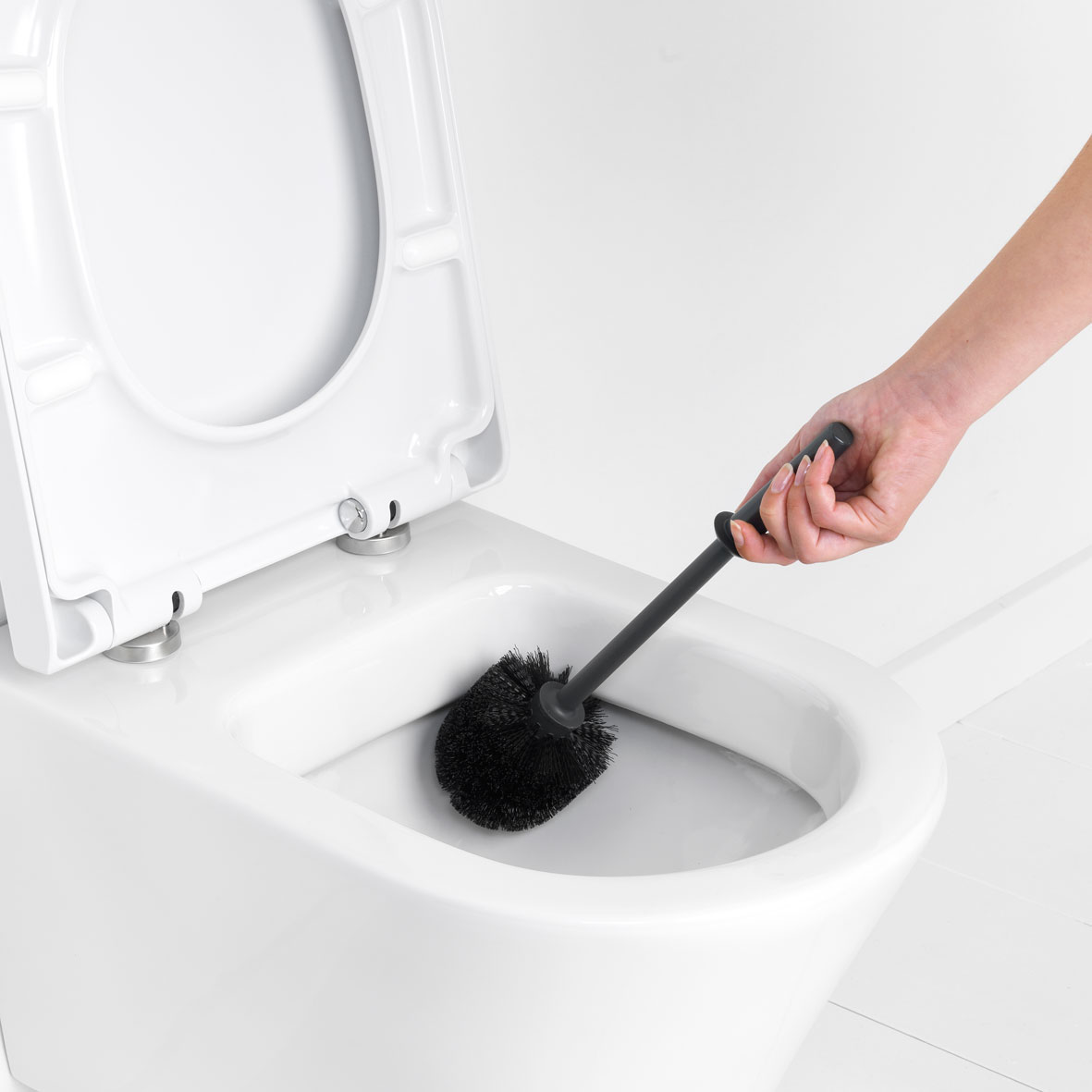 ReNew Toiletborstel Met Houder Matt Black