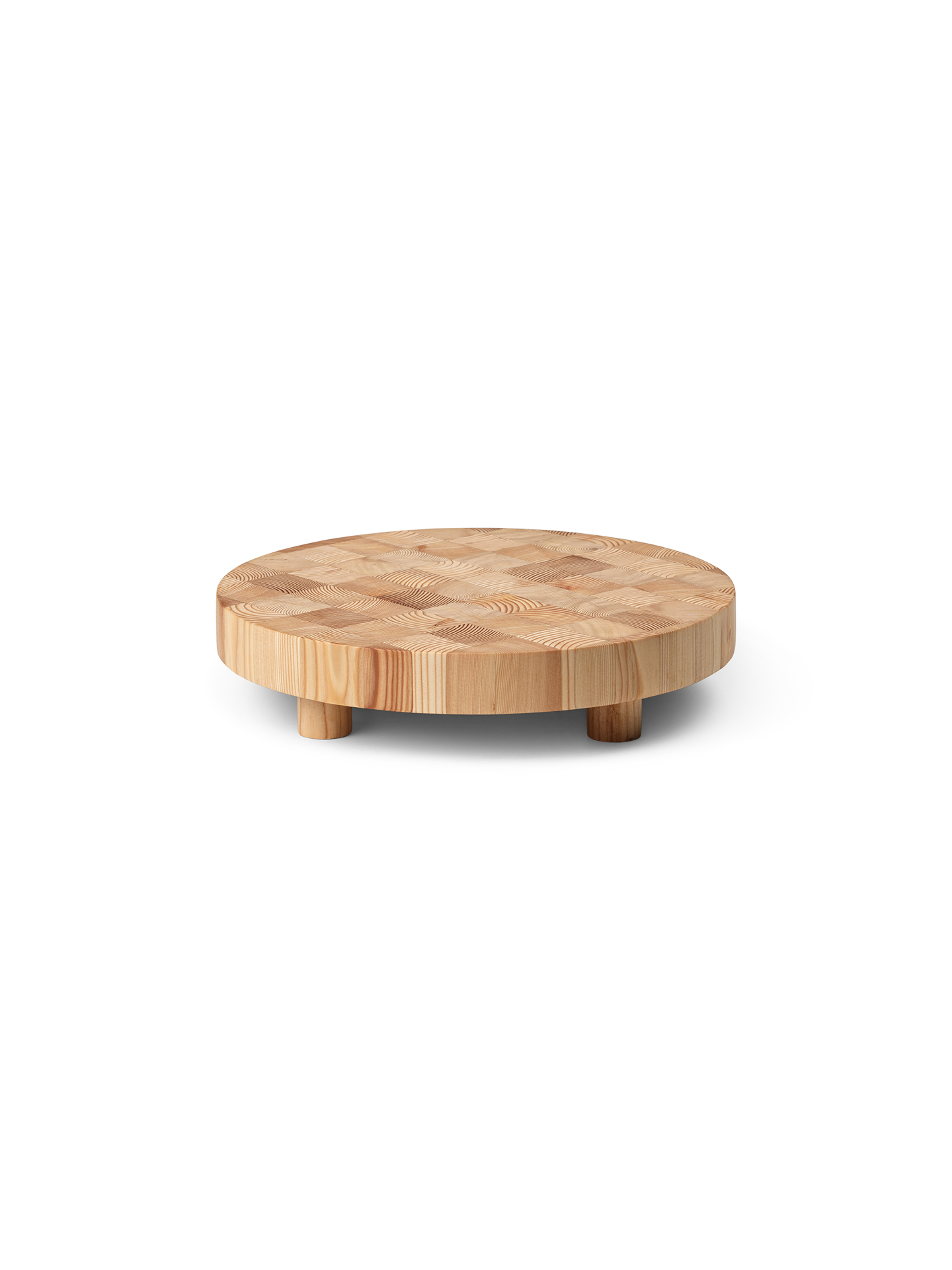 Ferm Living Chess Cutting Board Round S
