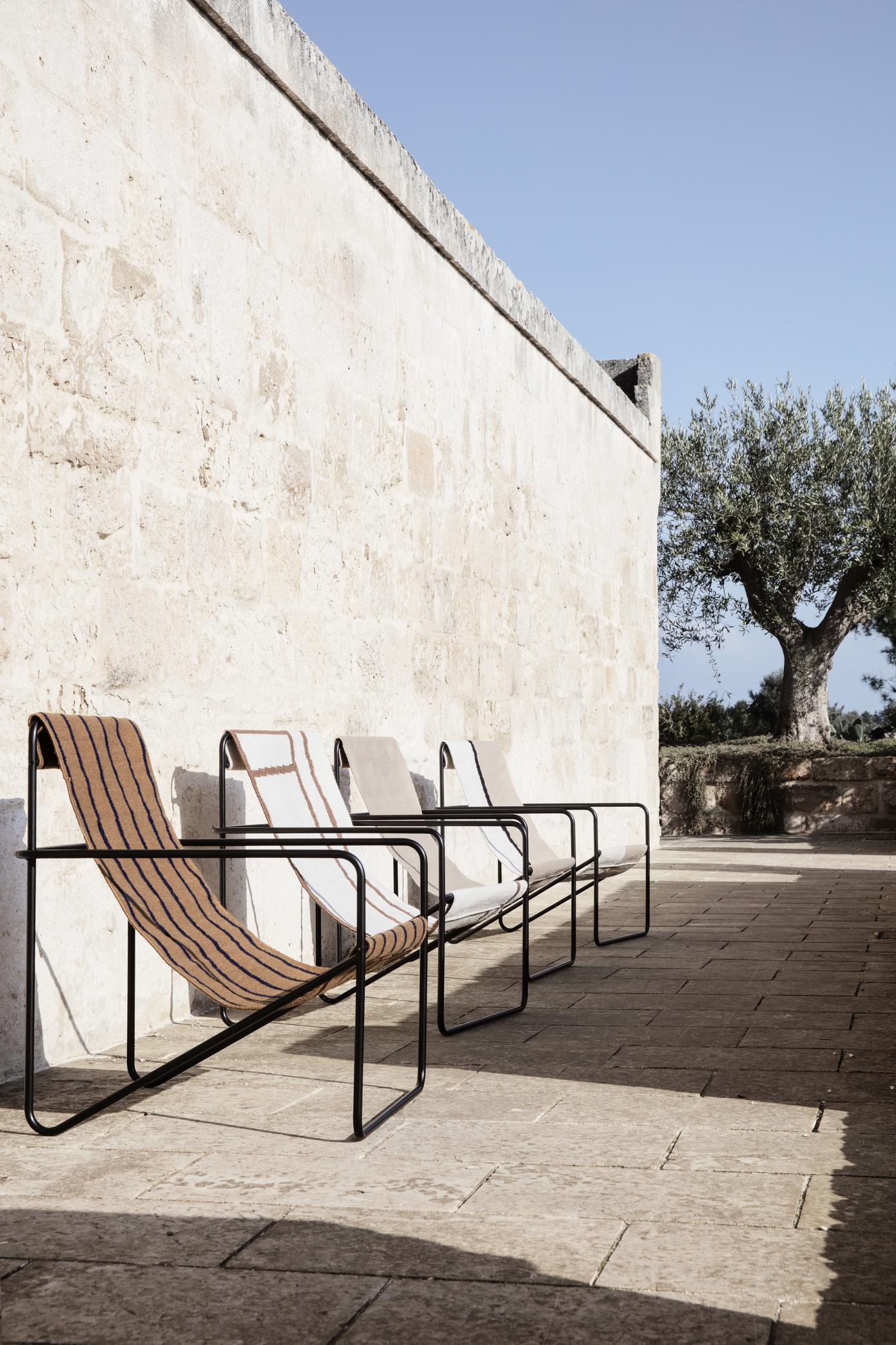 Ferm Living Desert Chair Black/Shape