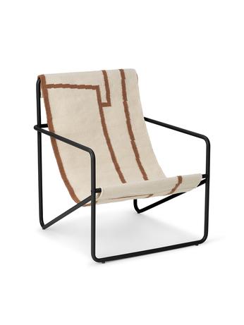 Ferm Living Desert Chair Kids Black/Shape