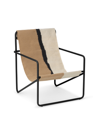 Ferm Living Desert Chair Kids Black/Soil
