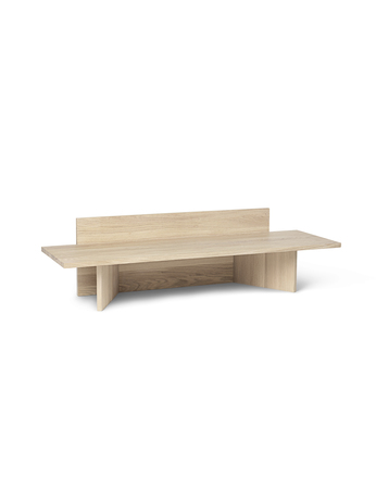 Ferm Living Oblique Bench Natural Oak