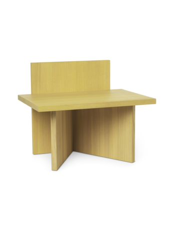 Ferm Living Oblique Yellow Stained Ash