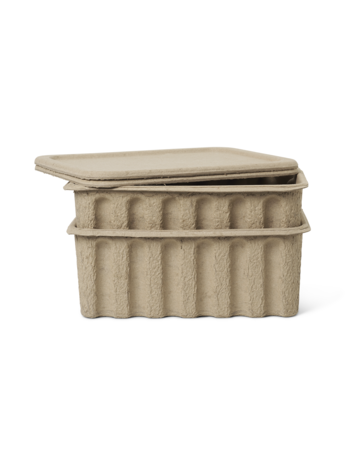 Ferm Living Paper Pulp Box L Set2