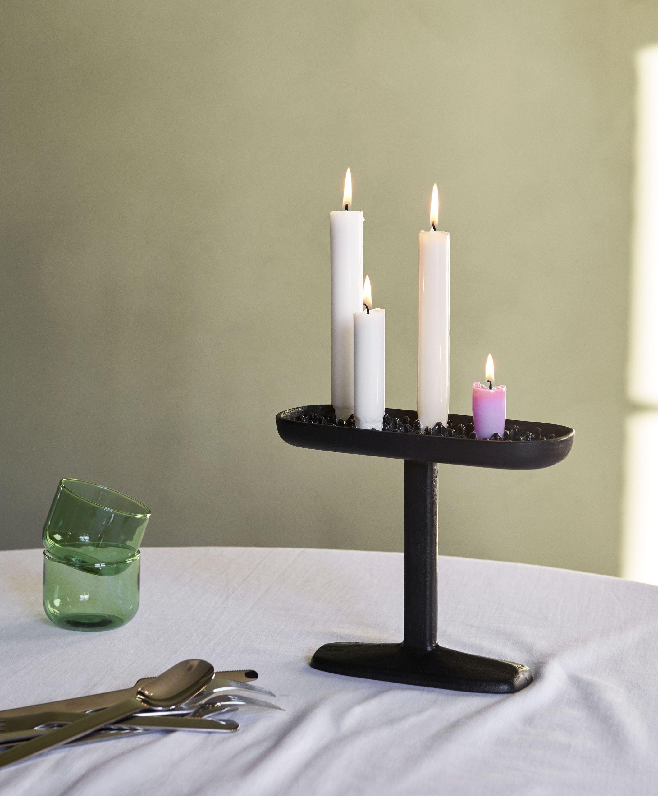 Fonte candleholder L black