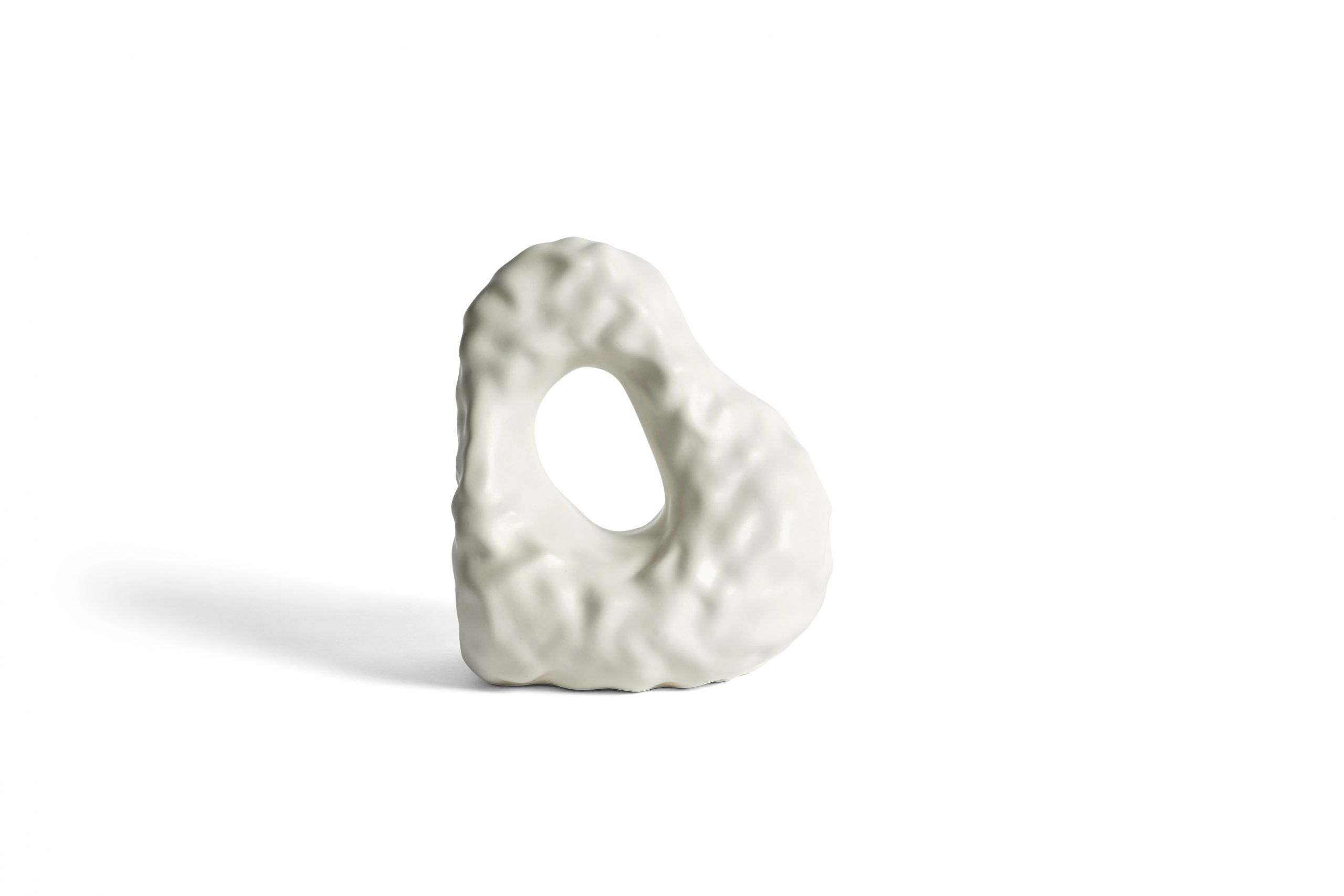 W&S bookend boulder ivory
