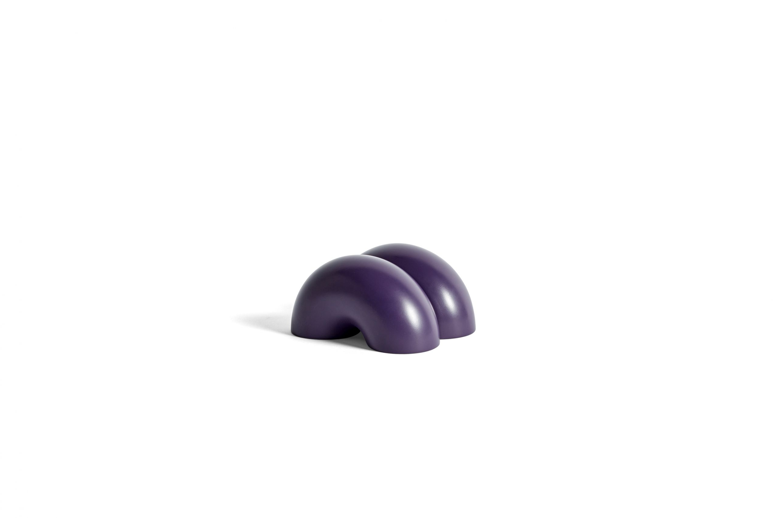 W&S doorstop double donut purple