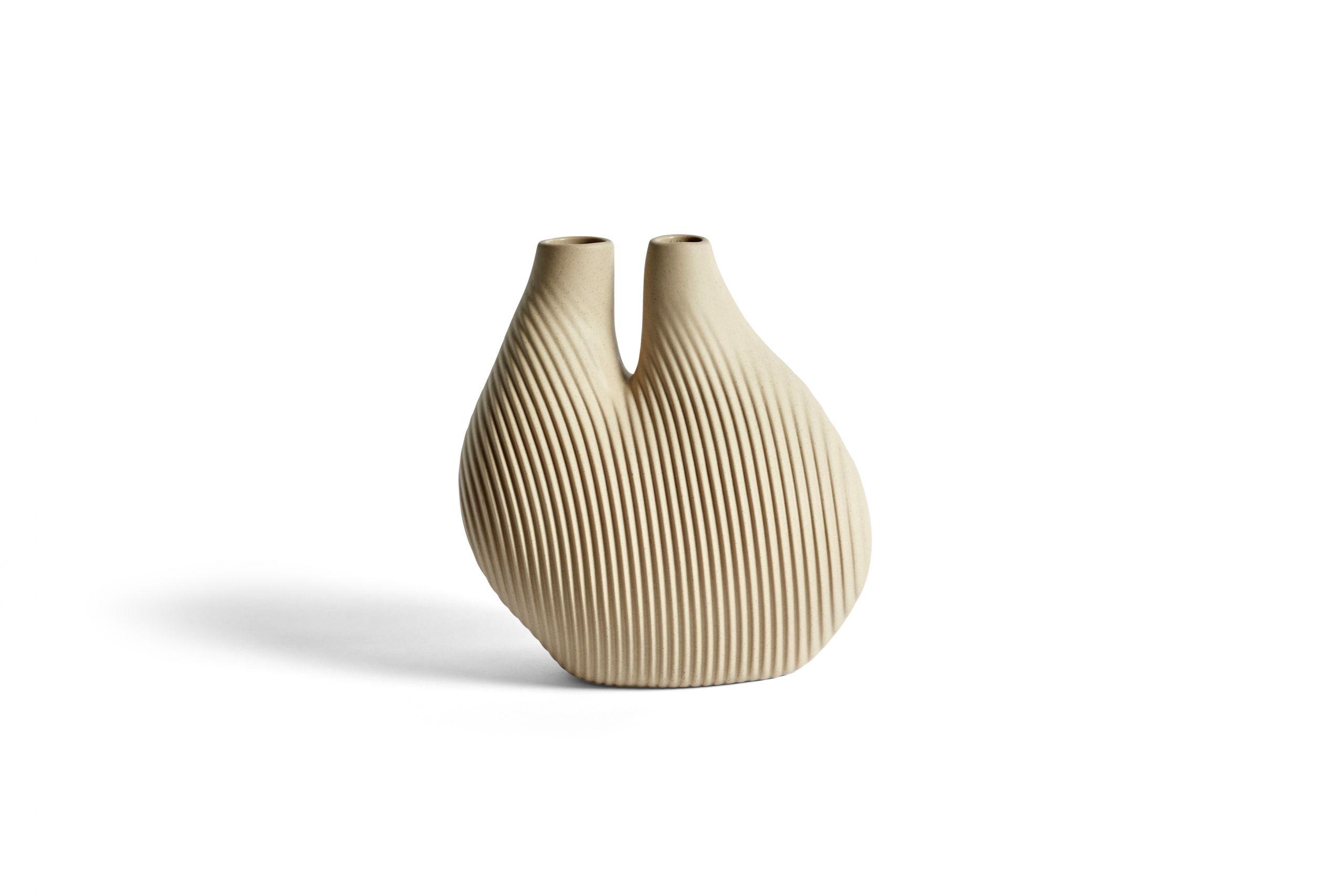 W&S vase chamber light beige