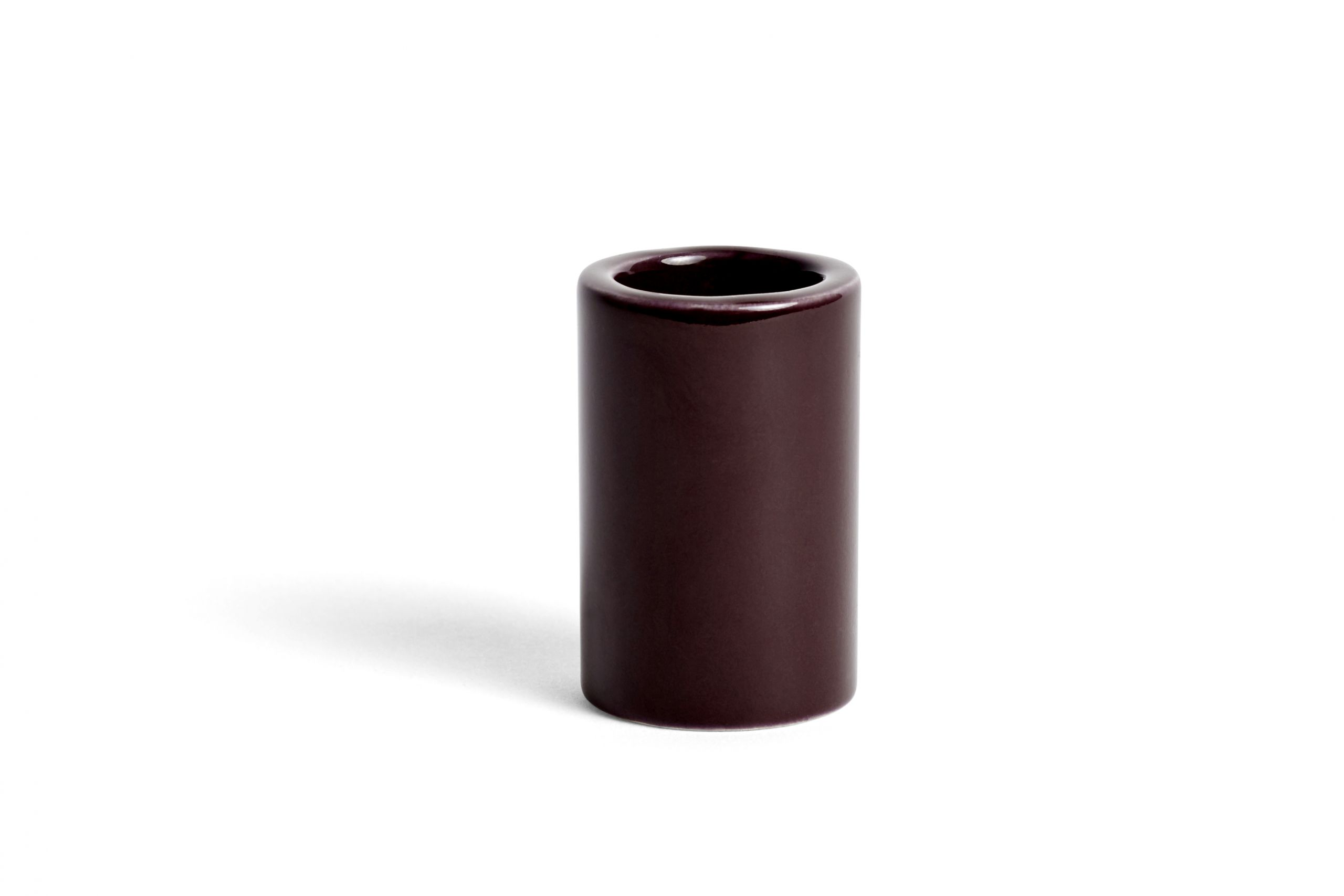 Toothbrush holder burgundy
