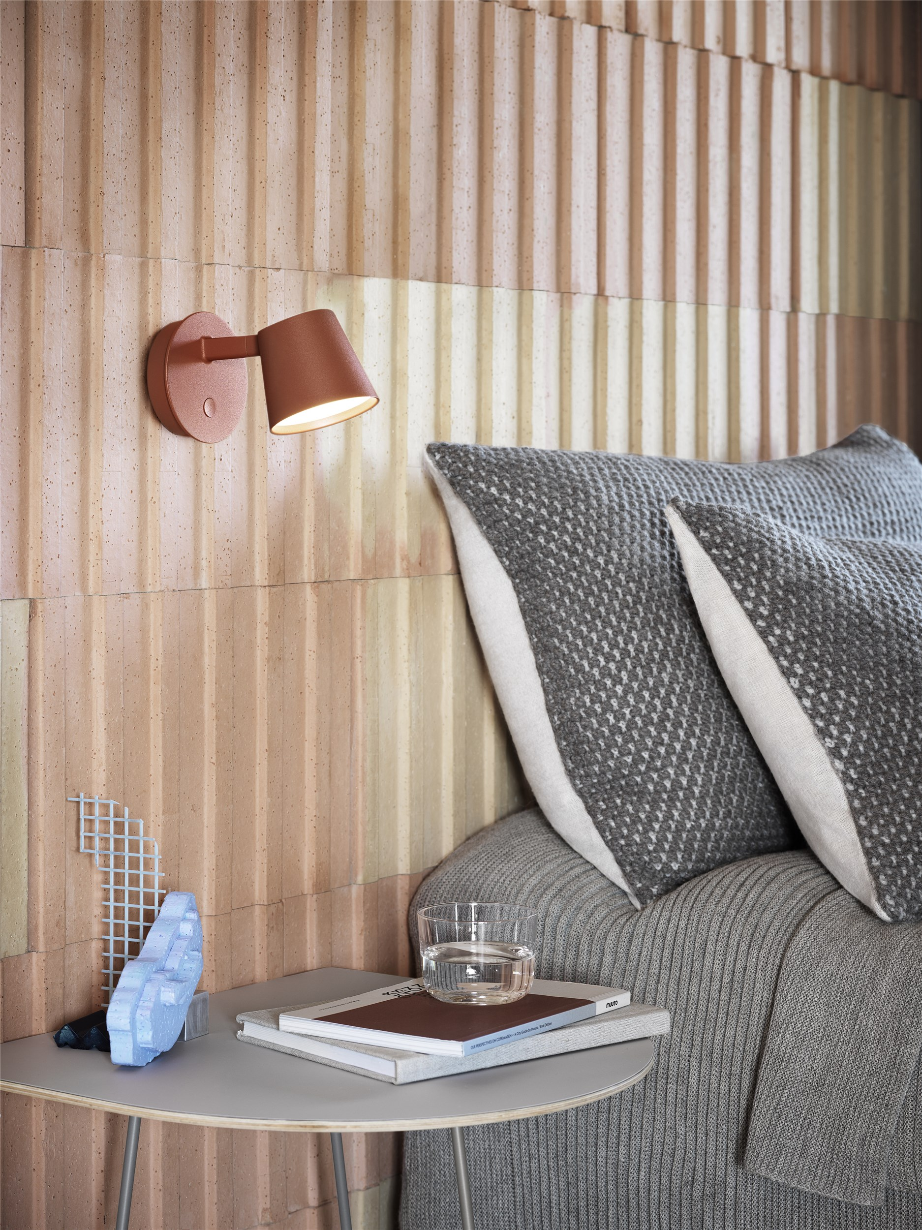 Muuto Tip Wall Lamp Copper Brown