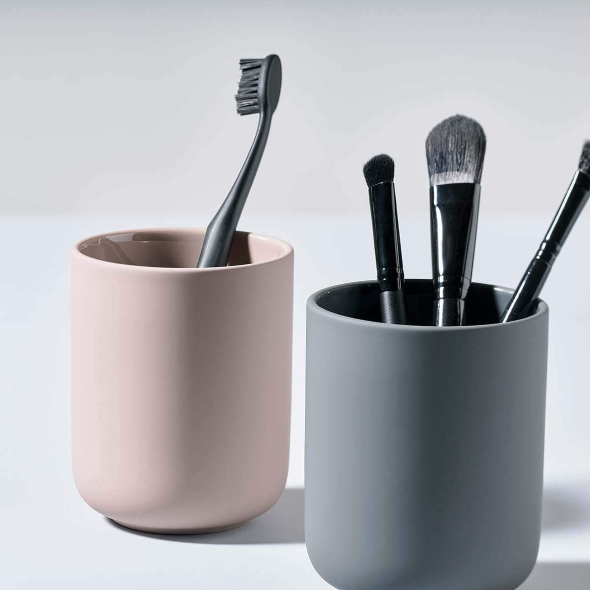 Toothbrush Mug Ume Warm Sand