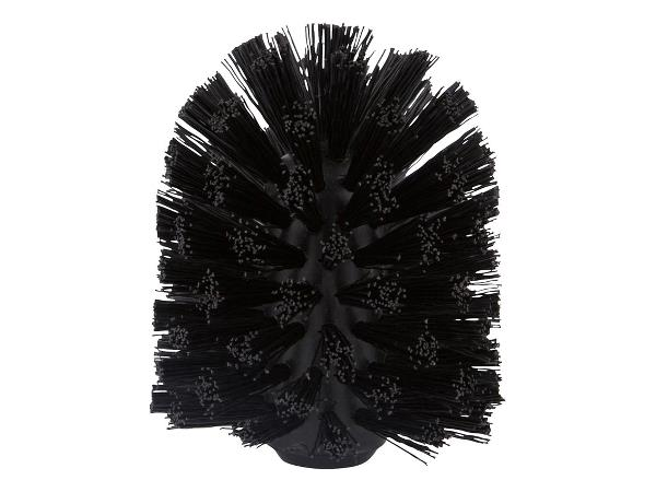 Toilet brush head for ume black