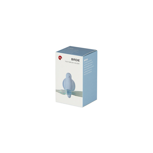 toothbrush holder birdie blue