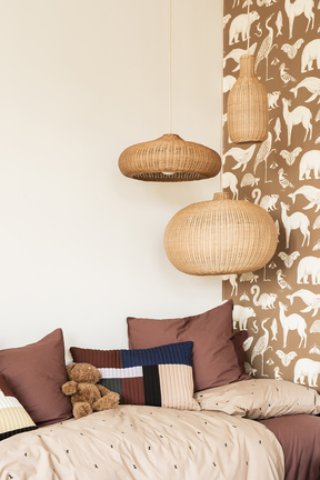 Ferm Living Braided Lampshade Belly