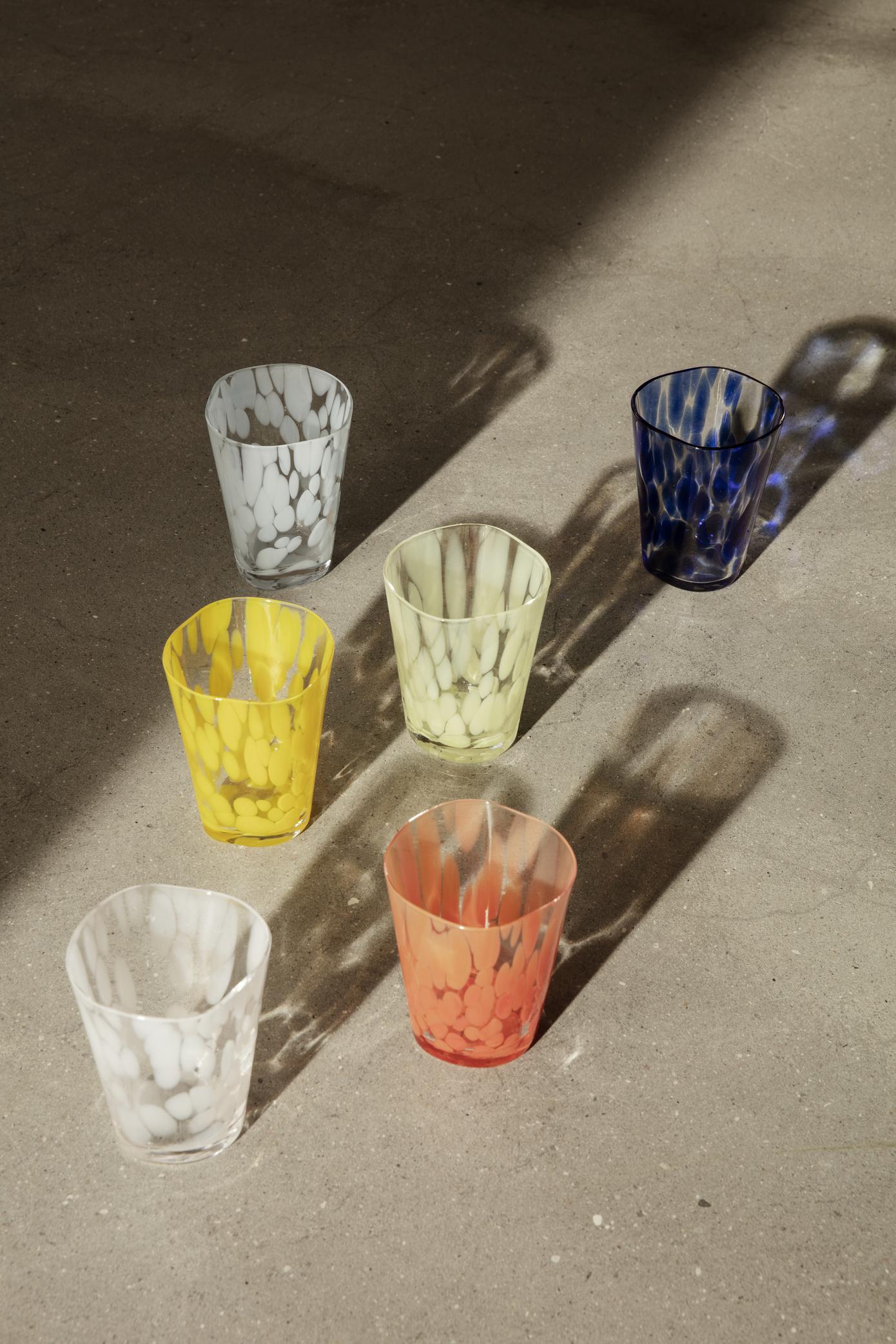 Ferm Living Casca Glass Indigo