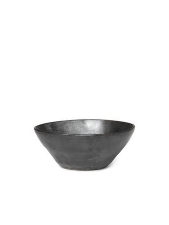 Ferm Living Flow Bowl Medium Black