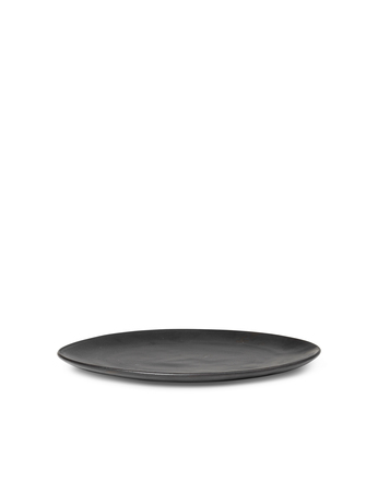 Ferm Living Flow Plate Medium Black
