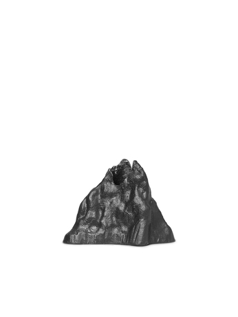 Ferm Living Stone Candle Holder Small Black