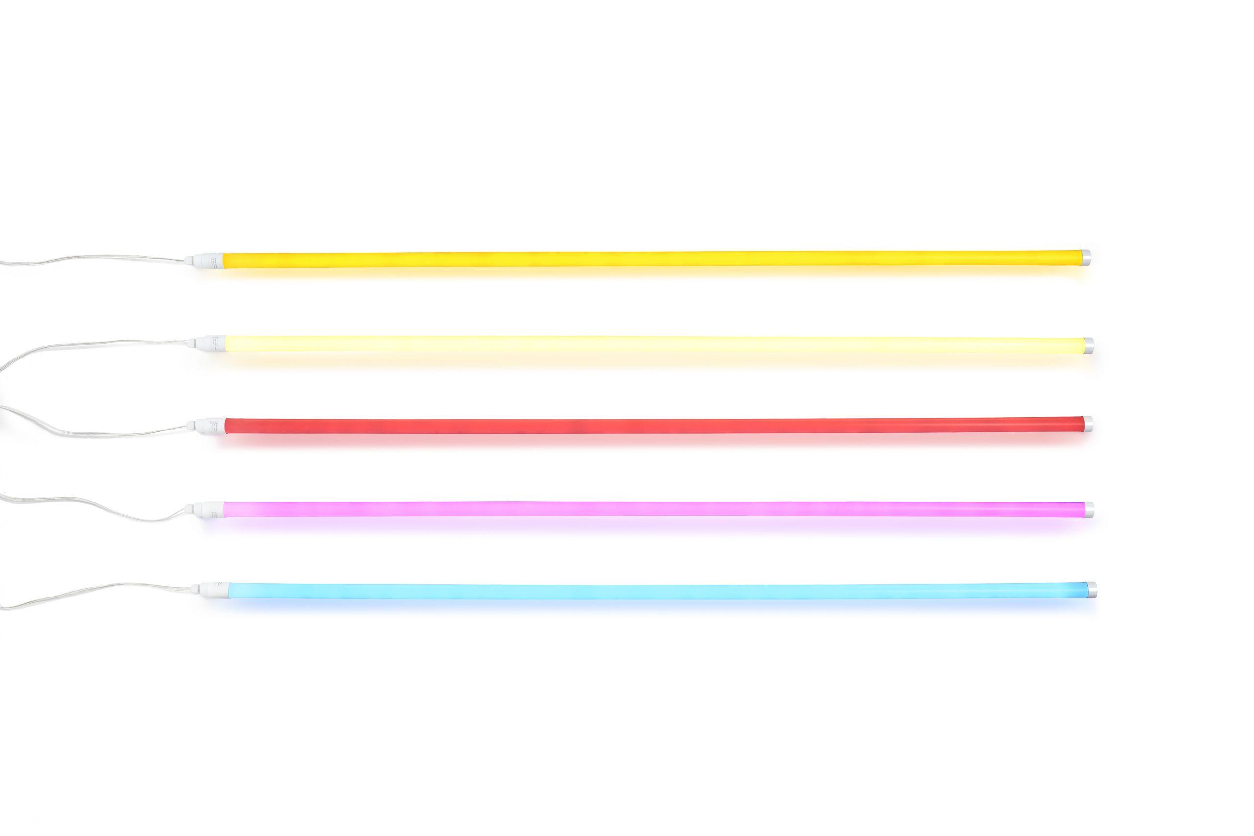 Neon tube led ice blue