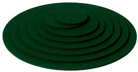 Onderzetter 9cm fir green