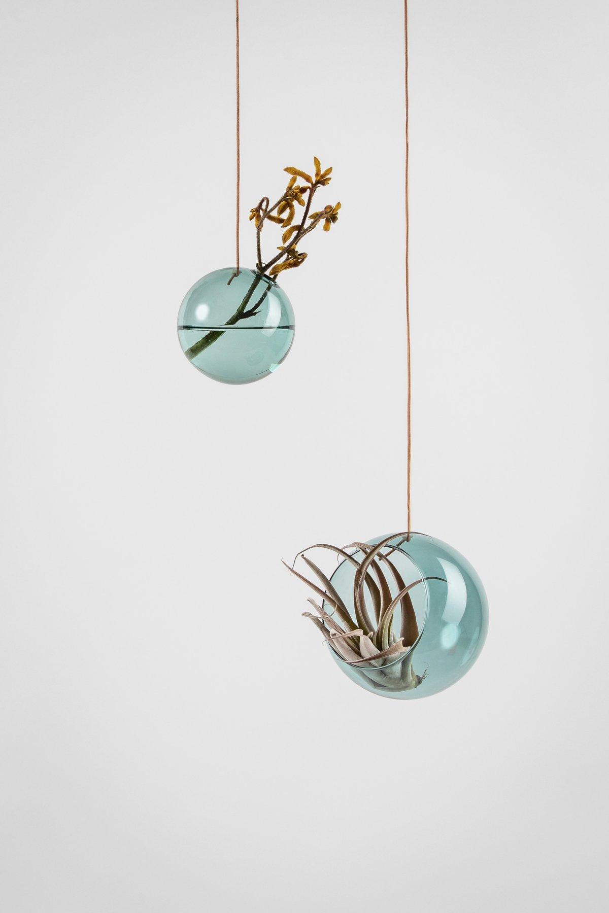 Studio About Bubble Hanging Vase M Cyan