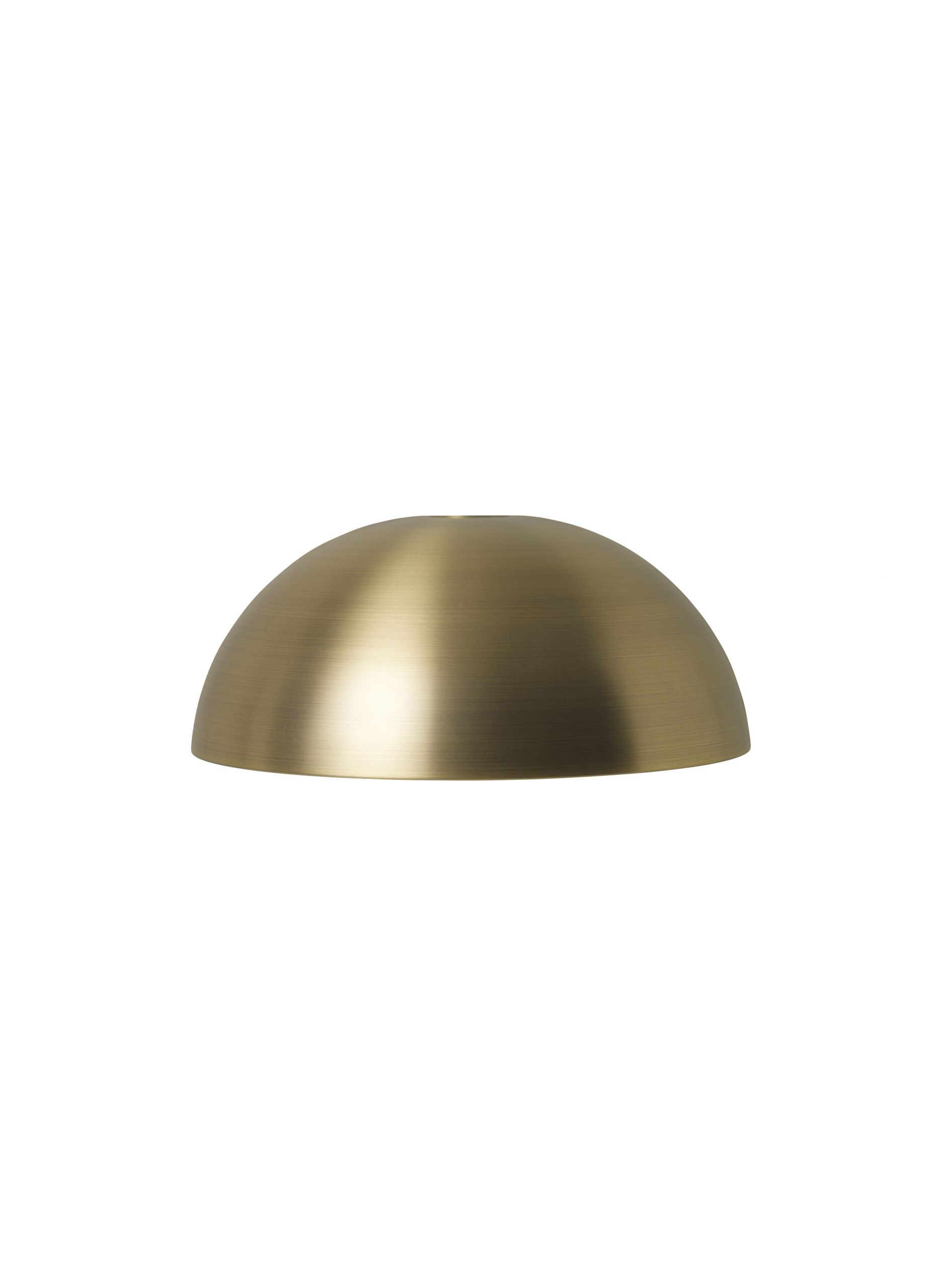 Dome Shade Brass
