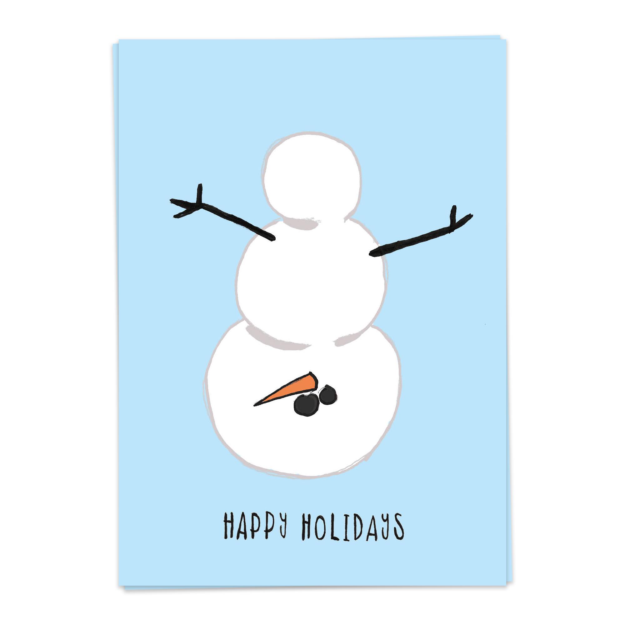 Xmas – Naughty Snowman