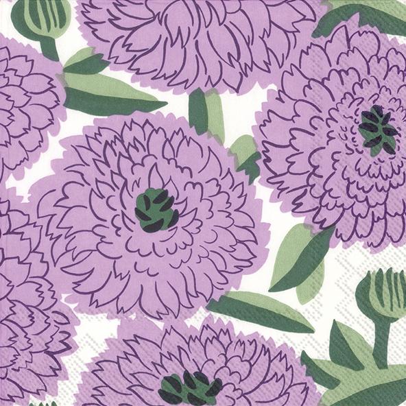 Primavera lilac lunch napkin