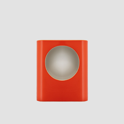 Signal lamp large tangerine orange
