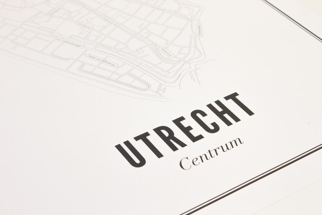 Utrecht centrum ansichtkaart